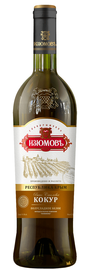 Вино белое полусладкое «Кокур»