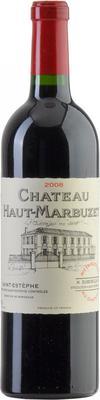 Вино красное сухое «Chateau Haut-Marbuzet St. Estephe» 2008 г.