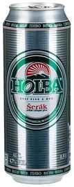 Пиво «Holba Serak» в жестяной банке