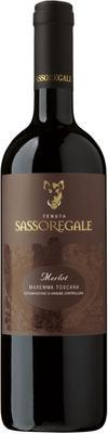 Вино красное сухое «Tenuta Sassoregale Merlot» 2012 г.