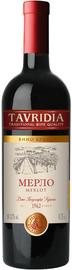 Вино красное полусладкое «Мерло»