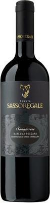 Вино красное сухое «Tenuta Sassoregale Sangiovese» 2014 г.