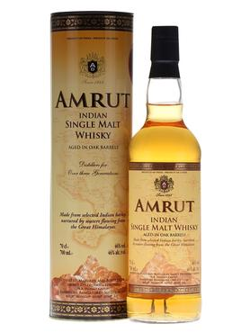 Виски «Amrut Indian Single Malt Whisky » в тубе