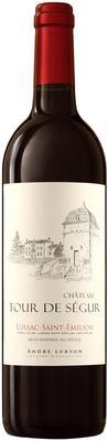 Вино красное сухое «Chateau Tour De Segur Lussac-Saint-Emilion» 2012 г.