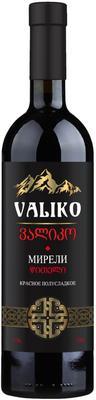 Вино красное полусладкое «Мирели»