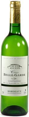 Вино белое сухое «Chateau Belle-Garde Blanc Bordeaux» 2013 г.