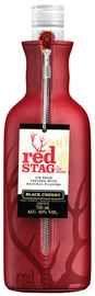 Виски американский «Jim Beam Red Stag Black Cherry» в подарочной упаковке-чехле