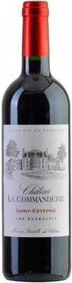 Вино красное сухое «Chateau la Commanderie Saint-Estephe Cru Bourgeois» 2012 г.