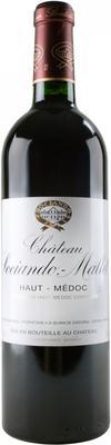 Вино красное сухое «Chateau Sociando-Mallet Haut-Medoc» 2004 г.