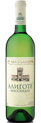 Вино белое полусладкое «Массандра Алиготе»