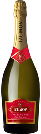 Российское шампанское розовое полусладкое «Izumov»