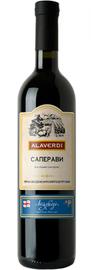 Вино красное сухое «Алаверди Саперави»