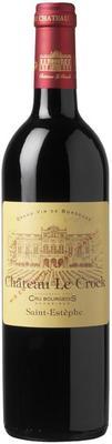 Вино красное сухое «Chateau Le Crock Cru Bourgeois» 2009 г.
