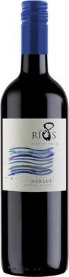 Вино красное полусухое «8 Rios Merlot» 2015 г.
