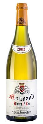 Вино белое сухое «Meursault Premier Cru Blagny» 2008 г.