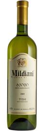 Вино белое полусладкое «Милдиани Твиши»