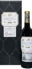 Вино красное сухое «Marques de Riscal Reserva» 2012 г. в подарочной упаковке