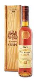 Арманьяк «Vieil Armagnac Sempe» 1945 г. в подарочной упаковке