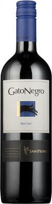 Вино красное полусухое «Gato Negro Merlot» 2014 г.