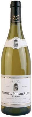 Вино белое сухое «Chablis Premier Cru Vaillons» 2010 г.