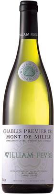 Вино белое сухое «William Fevre Mont de Milieu Domaine Chablis Premier Cru» 2012 г.