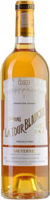 Вино белое сладкое «Chateau La Tour Blanche Sauternes» 2001 г.