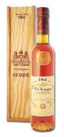 Арманьяк «Vieil Armagnac Sempe» 1964 г. в подарочной упаковке
