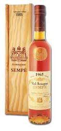 Арманьяк «Vieil Armagnac Sempe» 1965 г. в подарочной упаковке