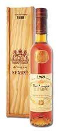 Арманьяк «Vieil Armagnac Sempe» 1969 г. в подарочной упаковке