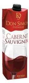 Вино красное полусухое «Don Simon Premium Cabernet Sauvignon (Tetra Pak)»