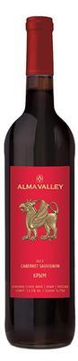 Вино красное сухое  «Alma Valley Cabernet Sauvignon» 2013 г.