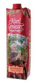Вино красное полусладкое «Klaus Langhoff Alter Geniesser red semi-sweet»