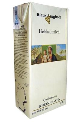 Вино белое полусладкое «Klaus Langhoff Liebfraumilch»