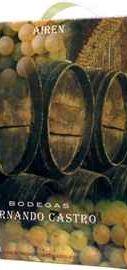 Вино белое полусладкое «Fernando Castro Airen BiB»