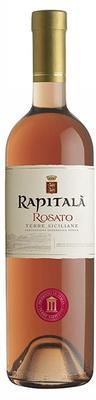 Вино розовое сухое  «Rapitala Rosato Terre Siciliane» 2015 г.