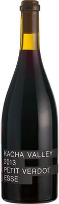 Вино красное сухое «Kacha Valley Petit Verdot Esse red dry»
