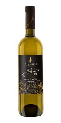 Вино белое полусладкое «Братья Асканели Алазанская Долина»