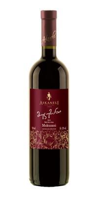 Вино красное сухое «Братья Асканели Мукузани» 2011 г.
