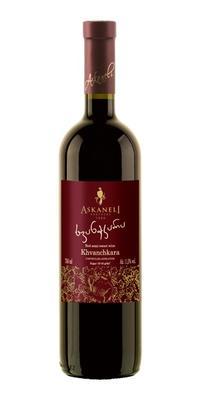 Вино красное полусладкое «Askaneli Brothers Khvanchkara» 2012 г.