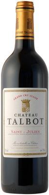 Вино красное сухое «Chateau Talbot St-Julien 4-me Grand Cru Classe» 2008 г.