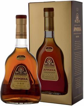 Коньяк армянский «Армина» в подарочной упаковке
