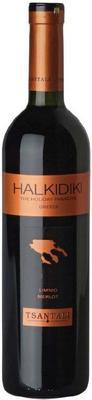 Вино красное сухое «Halkidiki Red» с защищенным географическим указанием