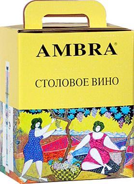 Вино белое сухое столовое «Bianco da Tavola Ambra»