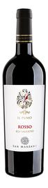 Вино красное полусухое  «Il Pumo Rosso» с защищенным географическим указанием Саленто
