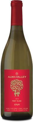 Вино белое сухое  «Alma Valley Pinot Blanc» 2014 г.
