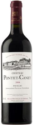 Вино красное сухое «Chateau Pontet-Canet Pauillac 5-me Grand Cru Classe» 2004 г.