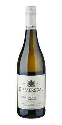 Вино белое сухое «Diemersdal Chardonnay Unwooded» 2015 г.