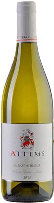 Вино белое полусухое «Attems Pinot Grigio Venezia Giulia» 2013 г.
