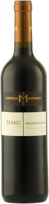 Вино красное полусухое «Castello Monaci Maru Negroamaro Salento» 2014 г.