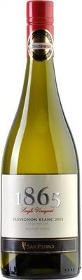 Вино белое сухое «San Pedro 1865 Single Vineyard Sauvignon Blanc» 2013 г.